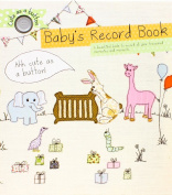 Cute As A Button Baby's Record Book From Pregnancy to 1st Birthday