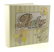 laura darrington baby shower photo album set patchwork collection
