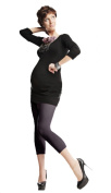 Maternity Pregnancy Leggings Microfibre Opaque Mat 80 Denier M - XXL by Lida 410