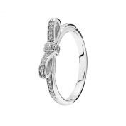 Pandora 190906CZ Ladies Ring Bow, L 1/2