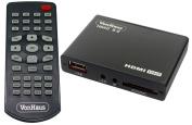 VonHaus Nano 3.0 Media Player- HD TV Digital Mini Media Player - 1080p - 5.1 Surround Sound - MKV - Play any file from USB HDDs/Flashdrives/Memory Cards