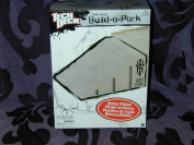 Spin Master - Tech Deck - Build-a-Park - Bank Ramp grey - Incl. 1 Sticker & 4 Connectors - MIB