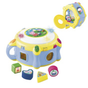 Reig Peppa Pig Shape Sorter with Electronic Drum