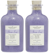 Aromafloria Stress Less Salt, Lavender, 680ml, 2 pk