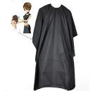EWIN(R) 2PCS Black Soft Pro Salon Barber Wrap Colouring Hairdressing Gown Hair Cut Cape Gown