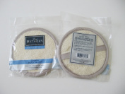 The Bathery 15cm Loofah Buff Pad for Body with Hand Strap