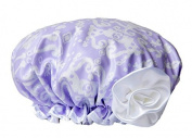 Bella Il Fiore Bath Diva Shower Cap Lavender Ikat