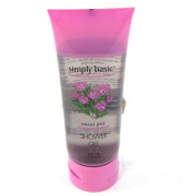 Simply Basic 120ml Travel Size Sweet Pea Shower Gel