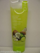3 X GRACE COLE COCONUT & LIME REVIVING & REFRESHING BODY SCRUB 3X238ml