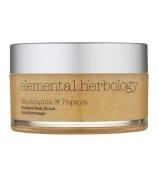 Elemental Herbology Macadamia & Papaya Radiance Body Scrub-200ml