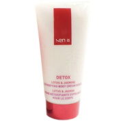 Detox by Sen Lotus & Jasmine Detoxifying Body Cream Scrub 200ml