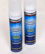 2 Months - Kirkland Foam Minoxidil 5% Mens Hair Loss Regrowth Generic - Total 120ml