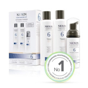 NIOXIN System 6 TRIAL kit for noticeably thinning medium to coarse hair