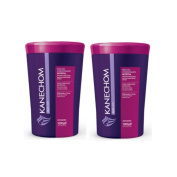 Deep Moisturising Cream - Mascara Restauradora Condicionante Açai - Kanechom - 1040ml (1kg) - Set of 2