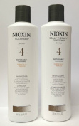 Nioxin System #4 Cleanser Shampoo 300ml & Scalp Therapy Conditioner 300ml Duo Set