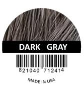 Samson Hair Building Fibres Hair Loss Concealer DARK grey large REFILL 50gr Made in USA.