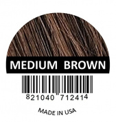 Samson Hair Building Fibres Hair Loss Concealer MEDIUM BROWN large REFILL 50gr Made in USA.