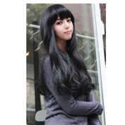 EVTECH(TM) High Quality New Women's Long Full Curly Wavy Glamour Hair Wig Fashion