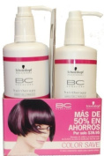 Bonacure - Schwarzkopf, Colour Save, Sulphate-Free Shampoo (25.50 fl. oz./750 mL) & Conditioner
