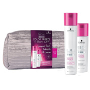 BC colour FREEZE duo New formula (Shampoo and Conditioner) with FREE cosmetic bag For coloured and highlighted hair