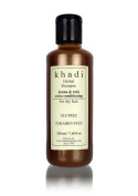 Khadi Herbal Henaa Tulsi Extra Conditioning Shampoo- SLS & Paraben Free - 210 ml