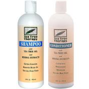 TEA TREE THERAPY INC Tea Tree Therapy Shampoo + Conditioner 470ml