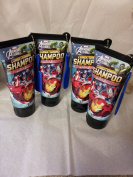 Bundle of 4 Marvel Avengers Assemble Conditioning Shampoo Battlin' Berry 180ml