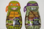 Teenage Mutant Ninja Turtles 3 in 1 Body Wash, Shampoo, Conditioner (2-410ml) Donatello Michelangelo Tmnt