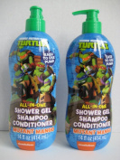 Teenage Mutant Ninja Turtles All in One Shower Gel, Shampoo, Conditioner Mutant Mango