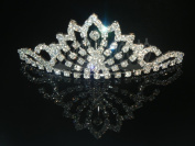 Wedding Crown, Bridal Tiara Rhinestone Crystal Crown C16