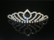 Wedding Crown, Bridal Tiara Rhinestone Crystal Crown C8