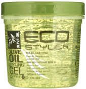 Eco Style Gel, Olive Oil, 470ml, 3 pk