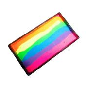 Kryvaline One Stroke Split Cake - Rainbow Neon