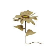 CWI Gifts Burlap Sunflower Pick, 90cm , Natural