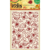 Sheena Douglass A Taste of India 13cm x 18cm Embossing Folder - Floral Confetti