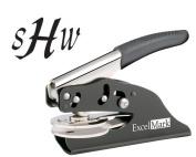 ExcelMark Hand Held Embosser - Monogram Gift Embosser - Style 56
