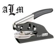 ExcelMark Hand Held Embosser - Monogram Gift Embosser - Style 55