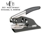 ExcelMark Hand Held Embosser - Monogram Address Gift Embosser - Style 22