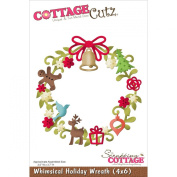 Cottagecutz Die -Whimsical Holiday Wreath