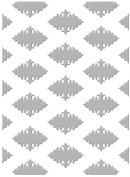 Couture Creations Embossing Folder Ornate Diamonds