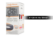 Sally Hansen Salon Insta Gel Strips 16 ct - 9 Colours to Choose (120 Hi Ho Silver) - FREE SHIPPING on Orders $35 and Over