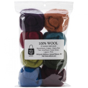 Wistyria Editions WR-905R Wool Roving, The Bouquet, 8-Pack