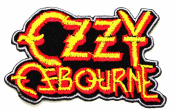 Ozzy Osbourne Heavy metal hard rock Iron On Patches WITH FREE GIFT
