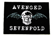 AVENGED SEVENFOLD A7X U.S. ROCK Band Embroidered Iron Or Sew On Patch WITH FREE GIFT