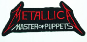 METALLICA MASTER OF PUPPETS LOGO IRON ON PATCH