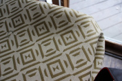 Crypton® Abercrombie Textiles Mid Century Green Modern Geometric Upholstery Fabric
