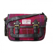 Harris Tweed Womens/Ladies Authentic Premium Shoulder Strap Satchel