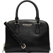 Michael Michael Kors 'Medium Reese' Leather Satchel Black New