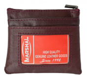 Genuine Leather Coin Purse with Front Id Holder By Marshal