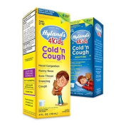 Hyland's Homoeopathic 4 Kids Cold 'n Cough Day and Night Value Pack, 8 Fluid Ounce